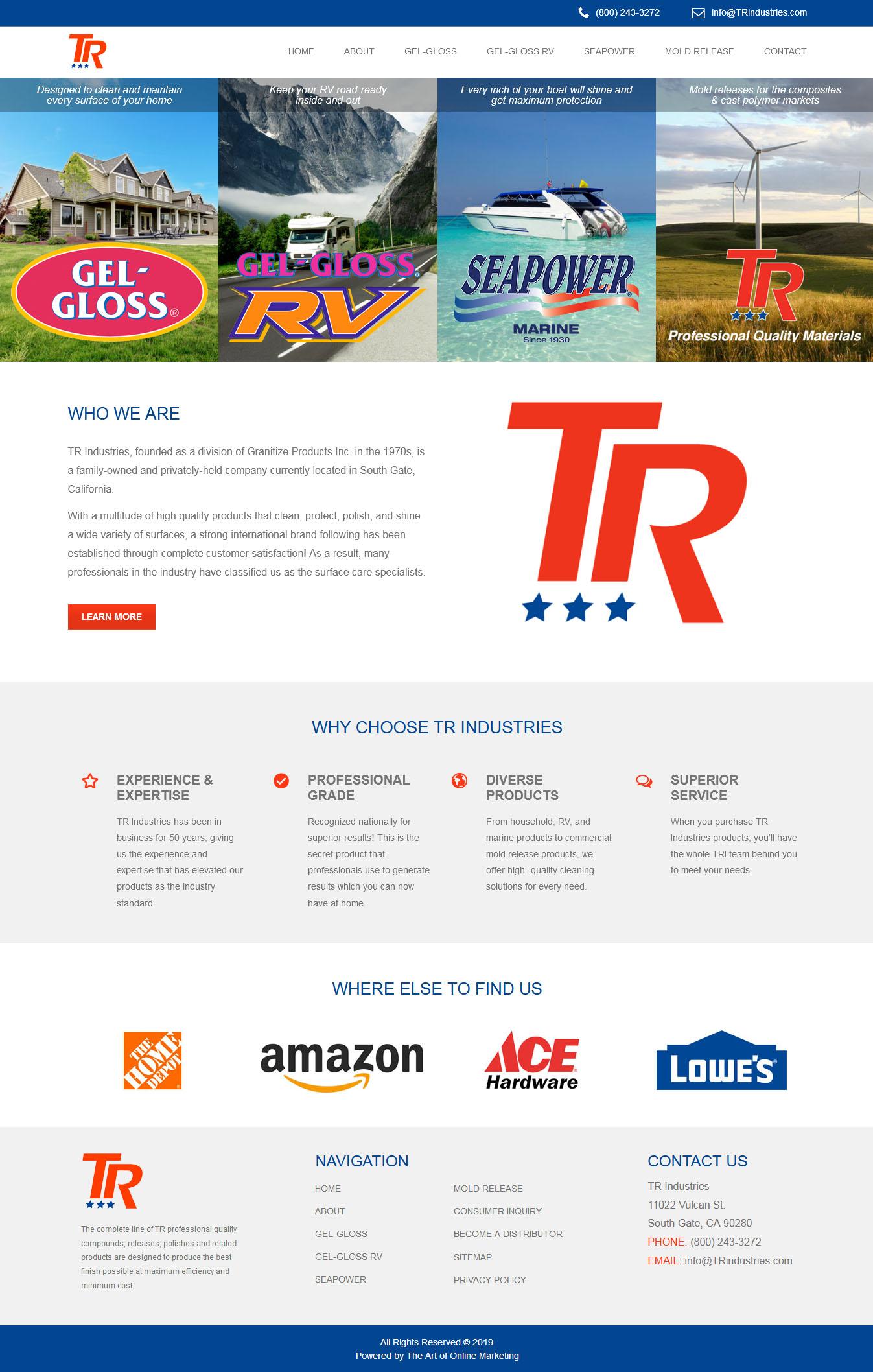 TR Industries