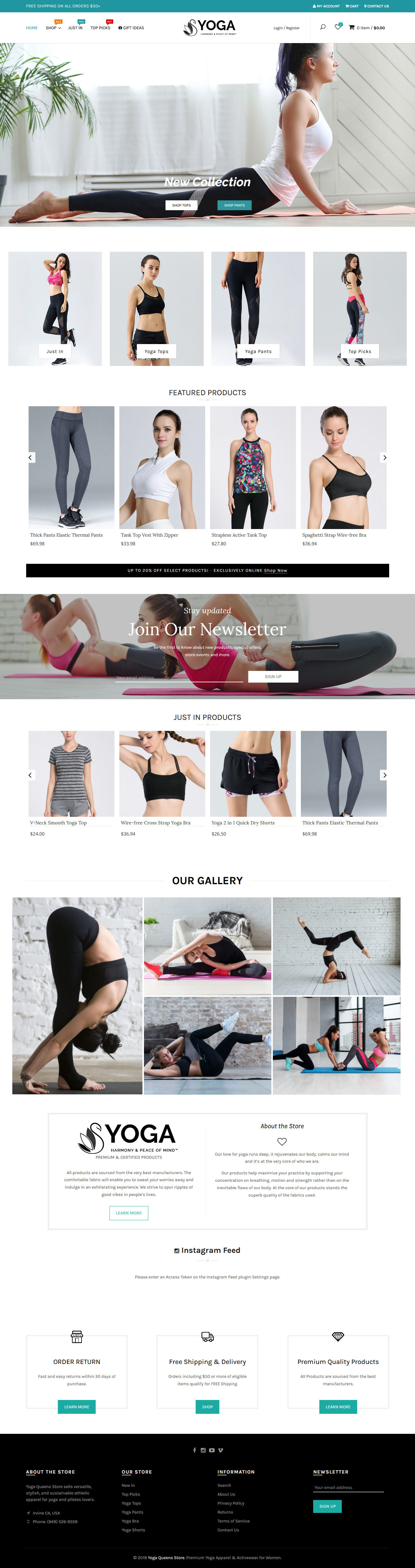 Yoga Queens Store